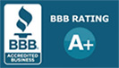 View our Rating on the Better Business Bureau